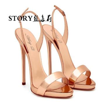 Señoras Aguja Tobillo Abierto Más Peep Sandalias Zapatos Alto Desnudo Buy Vestido Fino Tacón Sexy Toe Encaje Elegante Fiesta De l31cKJTF