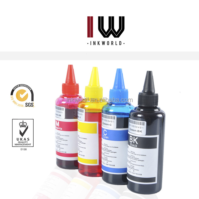 High Quality 100ml dye ink refill inkjet ink for epson desktop printers