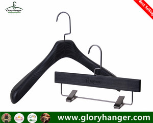 Glory Hanger High quality brand antique luxury wooden Suit hanger