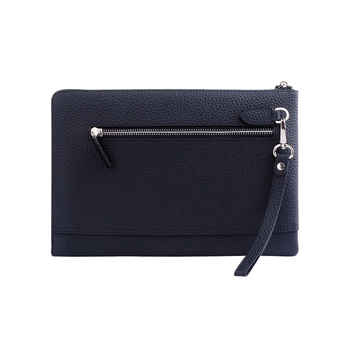 04ffc845429 classic cow genuine Leather Handle Clutch bag Fashion Wallet Mens Purse  Style Hand Bag. View larger image