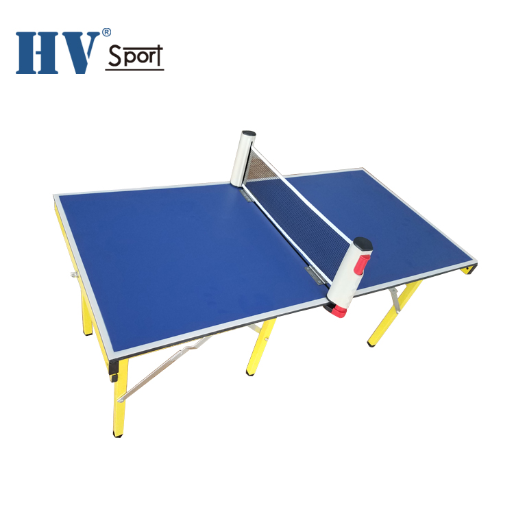 Outdoor game draagbare kids vouwen mini tafeltennis tafel