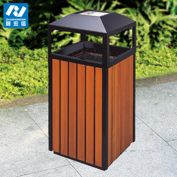 Types Of Outdoor Decorative Recycle Wooden Waste Litter Bin Buy Wooden Binwaste Litter Bindecorative Waste Paper Bins Product On Alibabacom