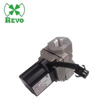 12v natural lpg gas safety high pressure flow control solenoid stove check gate cock thermostatic valve actuator low price