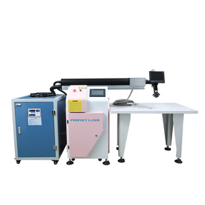 Mini cnc yag channel letter laser welding machine PE-W300II for stainless steel