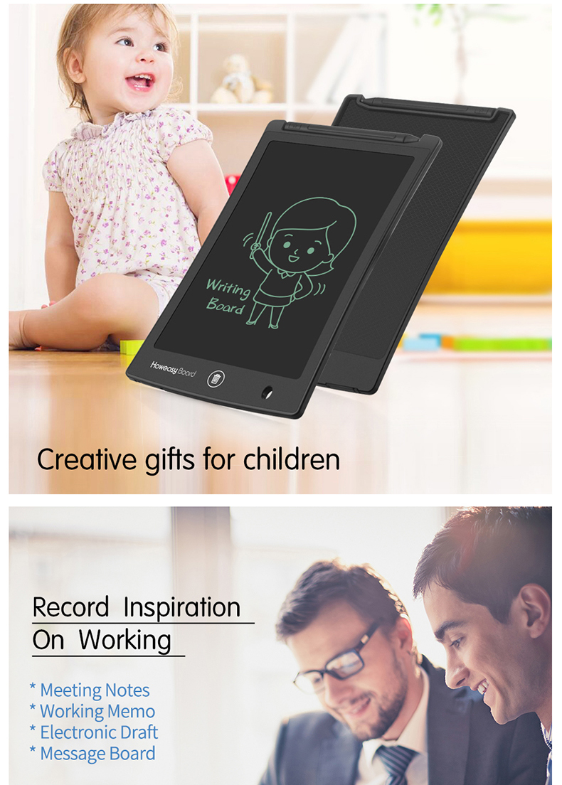 2019 gifts paperless lcd memo pad presents electronic gifts erasable notepad 8.5 inch gifts in America