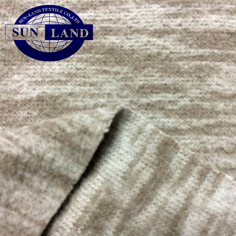 autumn pants sports coat cloth 50D 32Gauge tight knit interlock bonded with 75D144F DTY microfiber polar fleece fabric