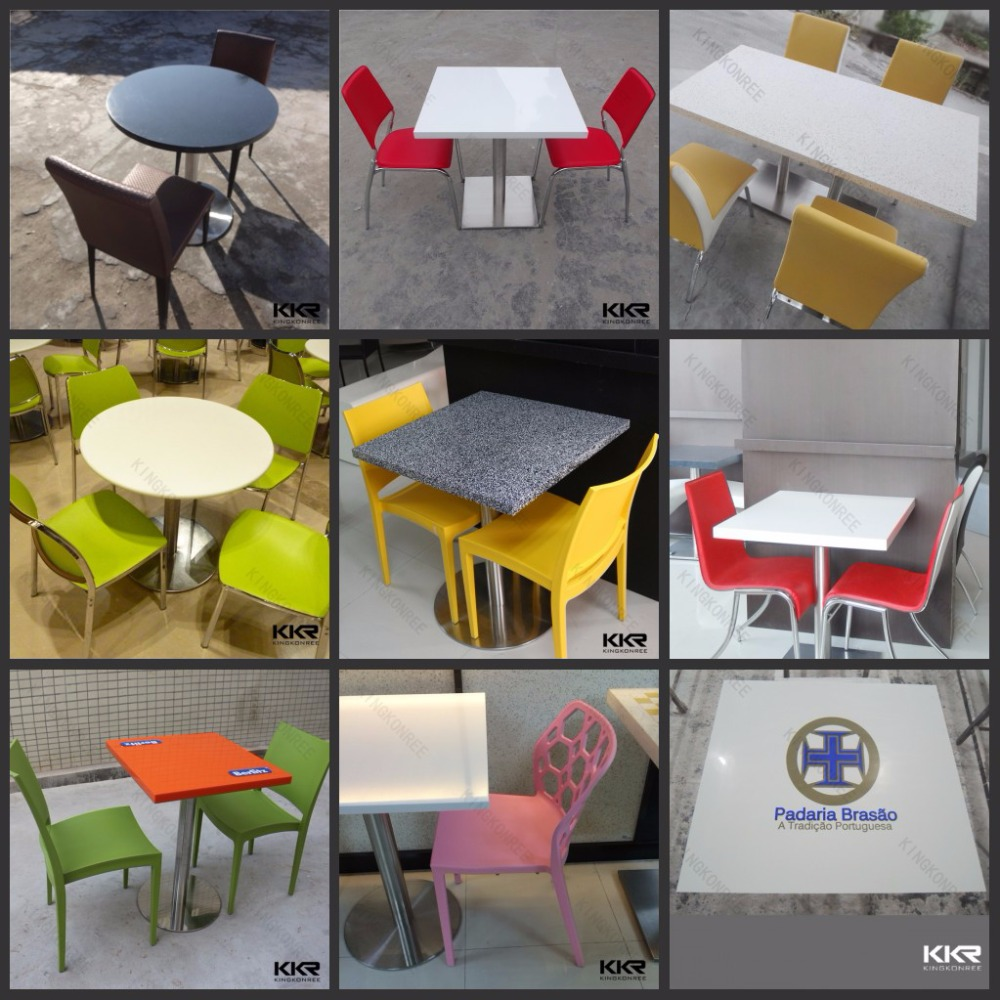 Modern Furniture Solid Surface Food Court Clear Acrylic Tables Part 60