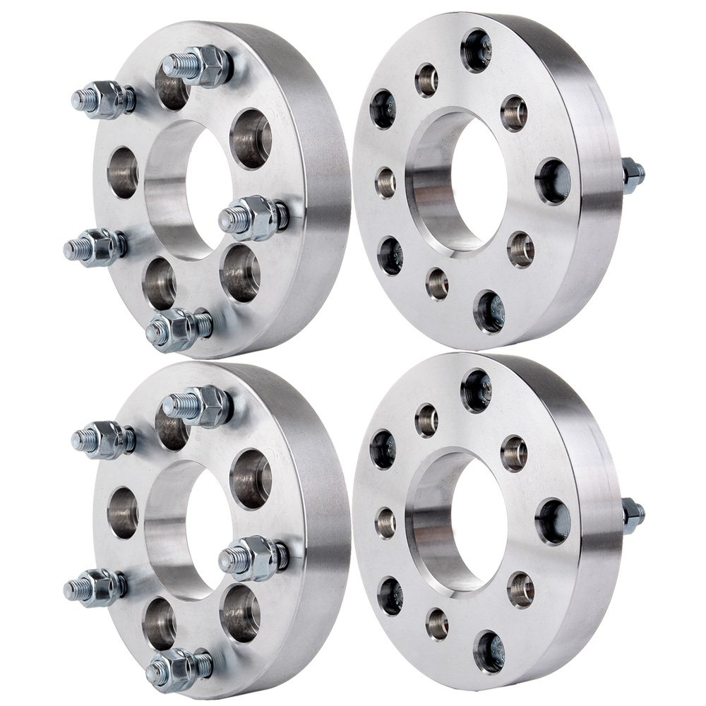 "ECCPP 4PCS Wheel Spacers Adapters- 1.25""(32mm)Thicknes - 5x4.5(5x114.3) to 5x5.5(5x139.7) - 12x1.5 Studs for Dodge Honda Hyundai Infiniti Jeep Lexus Nissan Toyota"