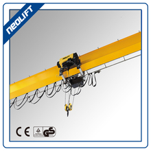 10 ton Electric Hoist Single Girder travelling crane with 6 m to 12 m wire rope