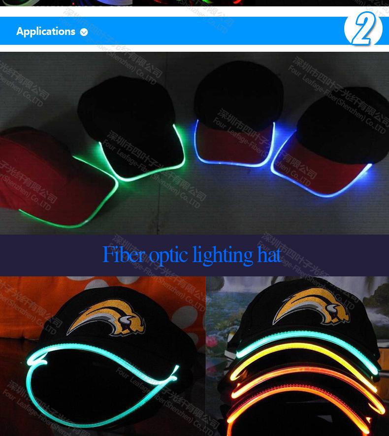 5mm Tpu Side Emitting Optic Fiber For Clothing Clothes Wrist ...