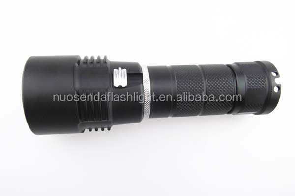 D108 1xCREE XM-L2 U2 1200lm LED Diving Flashlight (1x26650)