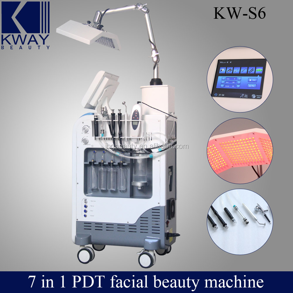 Best Seller for Guangzhou Skin peel water oxygen jet and hydro oxygen jet peel PDT Beauty Equipment with CE certificate