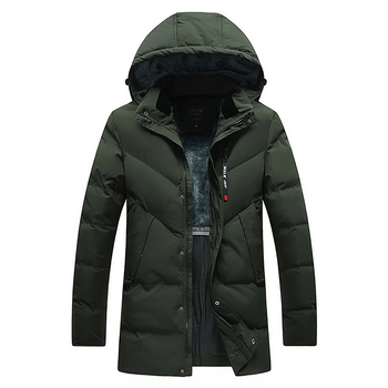 Winter Clothing Cheap Men's Overcoat For Winter Thick Warm Male Padded Men Winter Garment Coats