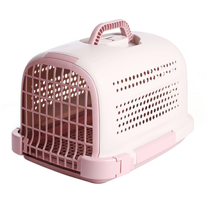 Wholesale Travelling Portable Plastic Pet Cage