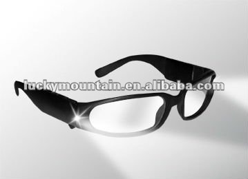 Gafas de seguridad led