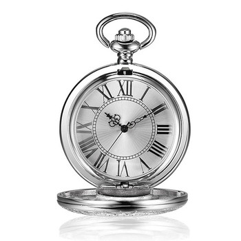 Antique Pocket Watch With Roman Numerals