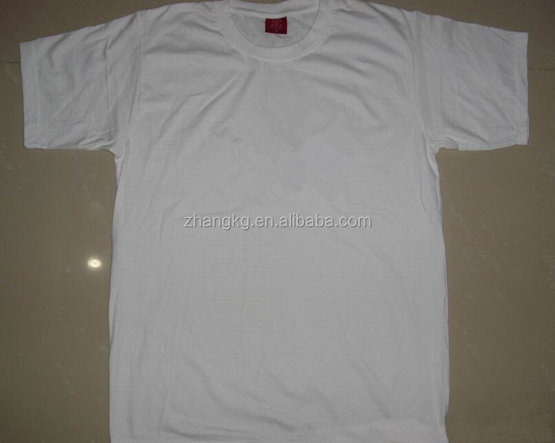 Blank white t shirt below 1$ ,bulk wholesale cheap white cotton t shirts ,t-shirt cotton wear
