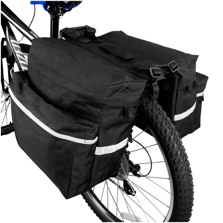 Waterproof Cycling Traveling Bicycle Rear Rack Saddle Pannier Tail Bag