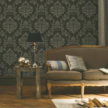 Kapas Meliputi Dinding Klasik Keren Bunga Wallpaper Buy Kapas