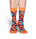 Bright Color Knitted Fish Scale Dress Socks for Unisex