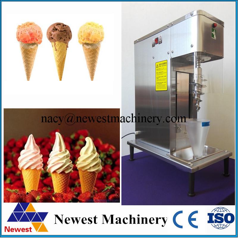 Frozen Ice Cream Machine Part - 18: 400w Swirl Freeze Ice Cream Machine,soft Ice Cream Machine,fruit Ice Cream  Mixer