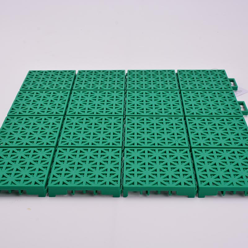 Interlocking Polypropylene Sheet Portable Badminton Court Flooring Plastic Floor Tiles