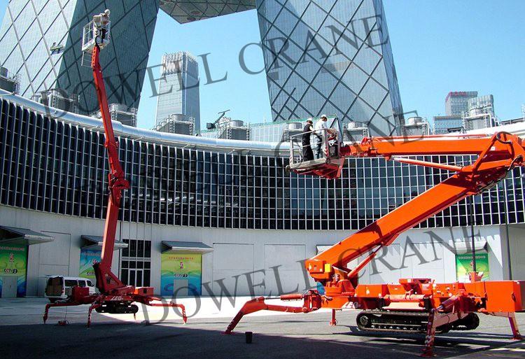 12 - 53m crawler crane spider lifting equipment