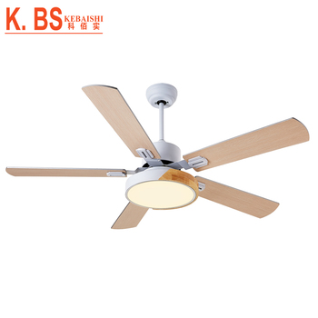 National Style Home Appliances Decorative Electric LED Lamps Ceiling Fan With Light