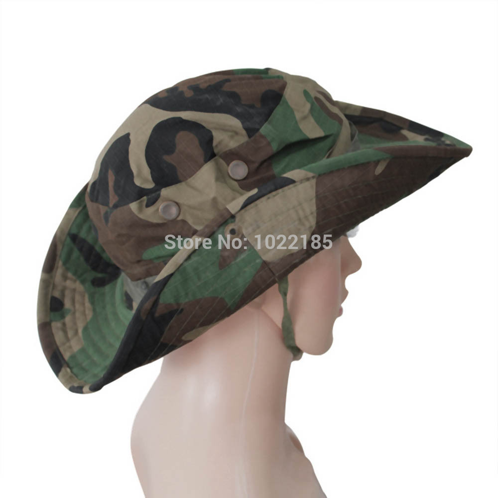 29186e58894bb Buy Fasion Military Camouflage Bucket Hats Camo Fisherman Hats With Wide  Brim Sun Fishing Bucket Hat Camping Hunting Hat in Cheap Price on  m.alibaba.com