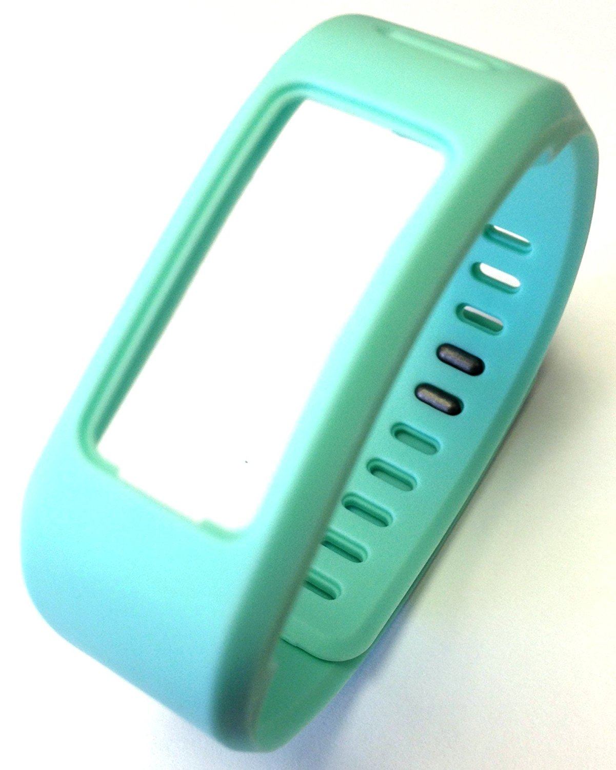 1pc Replacement Teal (Blue / Green) Band & Metal Clasp For Garmin Vivofit Bracelet Smart Wristband Wireless Activity Bracelet Sport Bracelet Sport Arm Band Armband