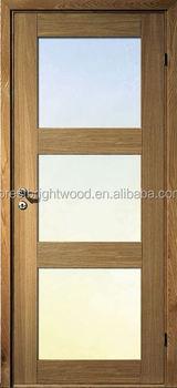 Modern 3 Lite Soundproof Clear Beveled Glass Interior Doors Buy Glass Interior Doors Beveled