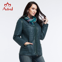 2016 Astrid New High-Quality Women Jacket Autumn and Winter Coat Plus Size Jacket Fashion Leisure Brand Women L-5XL AM-1590
