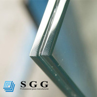 Deep processed glass factory producing 16.76mm high security laminated glass