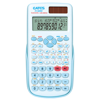 Fresh Color High Quality 10 Digits 2 Line Display Scientific Calculator School Student Use Electronic Calculator