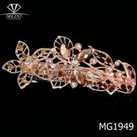 2014 new design ladies hair clips fancy hair accessories for women