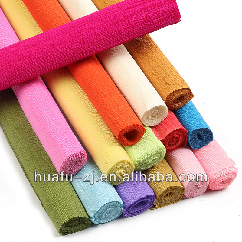 2019 Novel design beautiful pure color packing tissue paper for flower wrapping