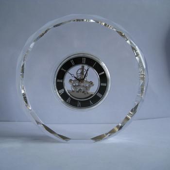 Conda Quartz Skeleton Desk Clock Mn5163