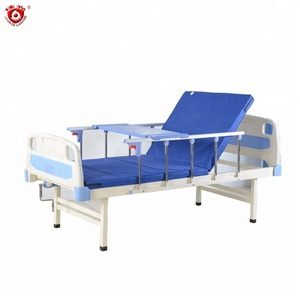 cheap home care nursing medical bed with toilet