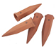 Set of 4 Premium Plant Waterer Self Watering Terracotta Plant Nanny Spikes