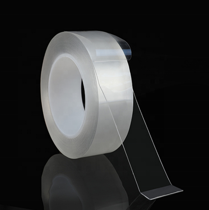 waterproof  high sticky Washable Recyclable Transparent no residue Nano Tape