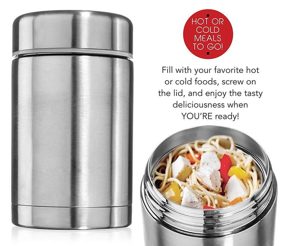 Hot selling products 304 vacuum stainless steel keep food warm insulated food jar/Vacuum lunch box