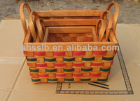 Wood Baskets Wholesale