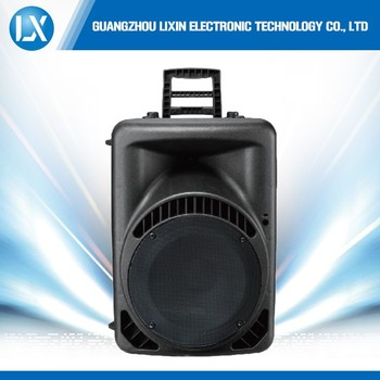 Big Woofer Acoustic Pro Powered Portable Music Box Speakers 12v ...