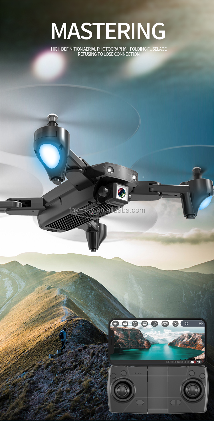 Toysky WIFI FPV GPS S166GPS Long range Follow me 2.4G or 5G RC Drone Quadcopter with 4K Or 1080P Camera 18mins Flight Time
