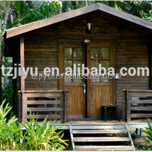 PREFABRICATED LOW COST SIMPLE WOODEN HOUSE RUSSIAN PINE WOOD