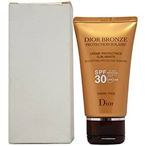 311fab176 Christian Dior Bronze Beautifying Protective Suncare Hight Protection SPF  30 for Face, 1.7 Ounce