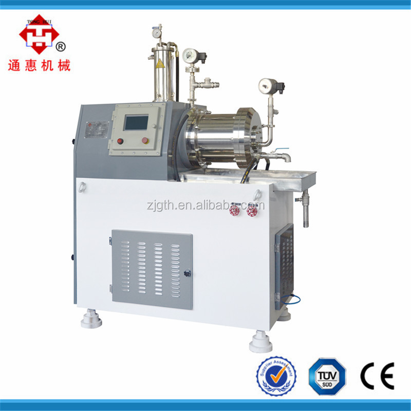 water-based paints manufacturing equipment/plant, grinding mill