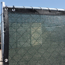 PE tennis privacy windbreak fence shade net