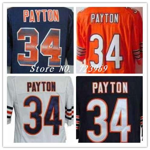 ... nbajerseyscnrvlek535 throwback bears jerseys promotion shop for  promotional throwbacknbajerseysqruyx Walter Payton 34 of the Chicago ... ed2fe7025
