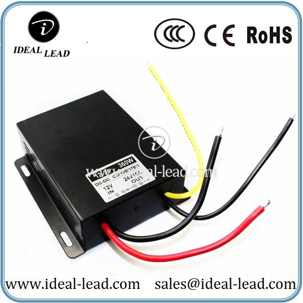 12Vdc to 24Vdc 15A converter